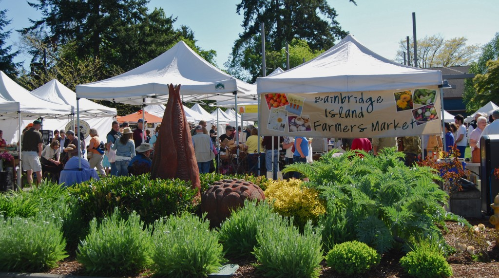 Bainbridge Island's Farmers' Market Ranked #62 of 101 Best U.S. Farmers' Markets