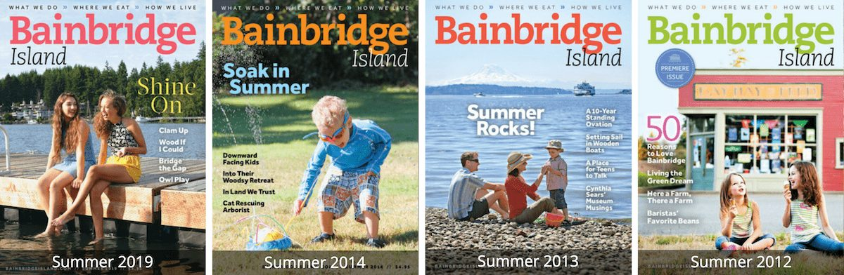 Four of our favorite summer issues