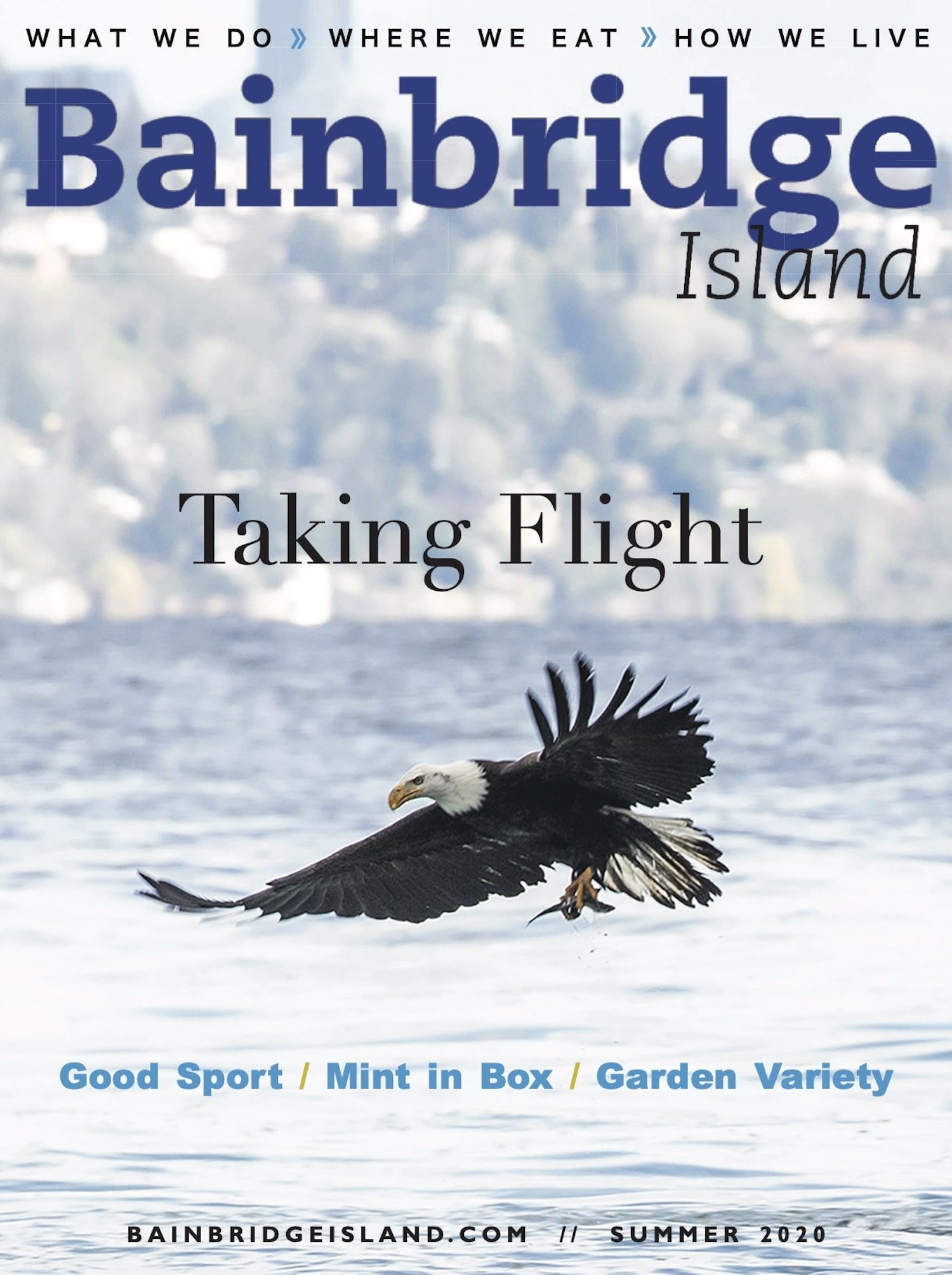 Bainbridge Island Magazine, Summer 2020
